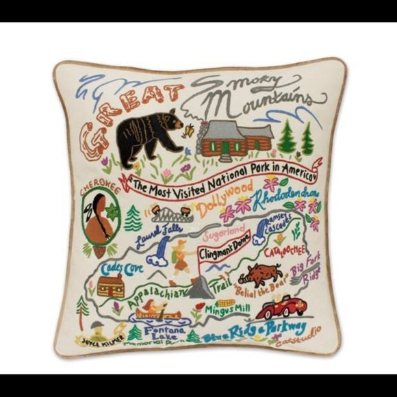 Catstudio Other - Great Smoky Mountain Pillow (Swan Magic=Catstudio)